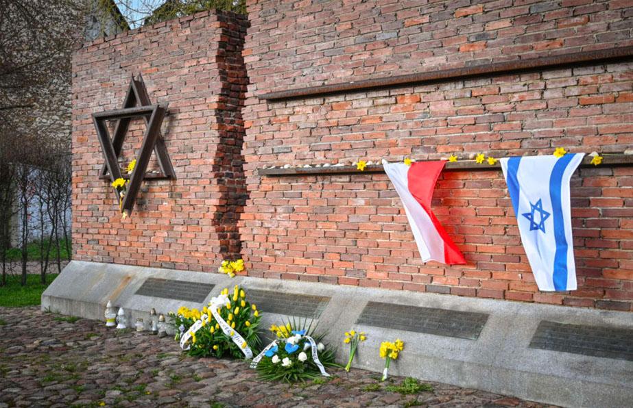 Oddziały TSKŻ uczciły pamięć bohaterów getta
