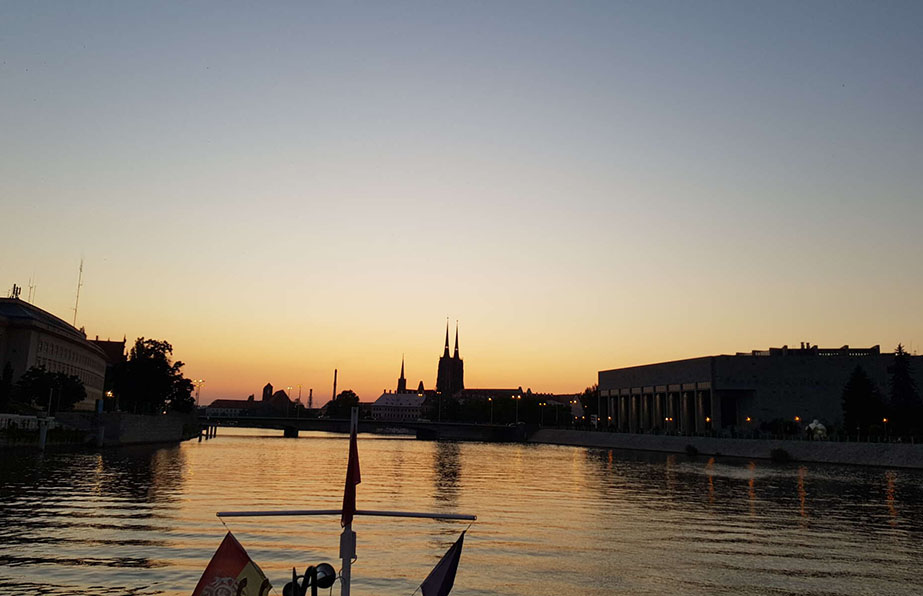 A cruise on the Oder River commemorating the 73rd anniversary of proclamation of the State of Israel