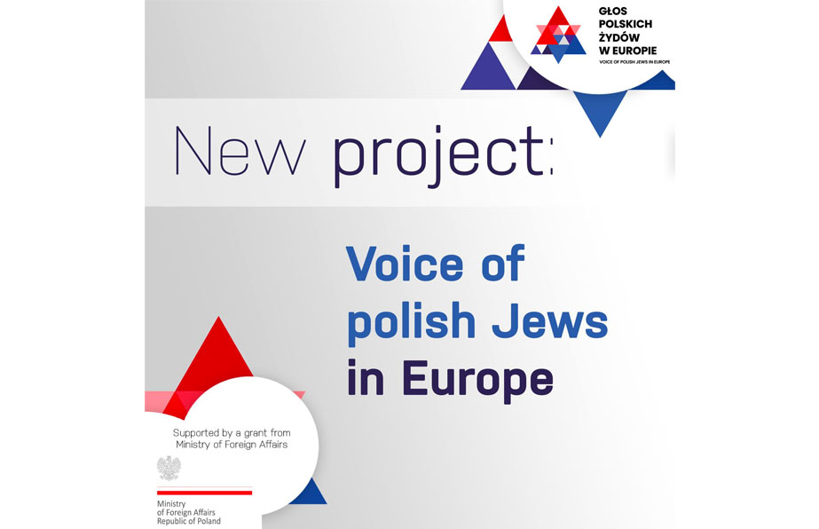 We are launching a new project – the Voice of Polish Jews in Europe