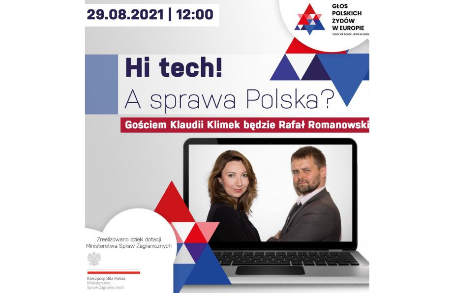 "Konferencja online ""Hi Tech! A sprawa Polska?"""